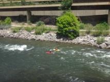 Kayaking on the Colorado