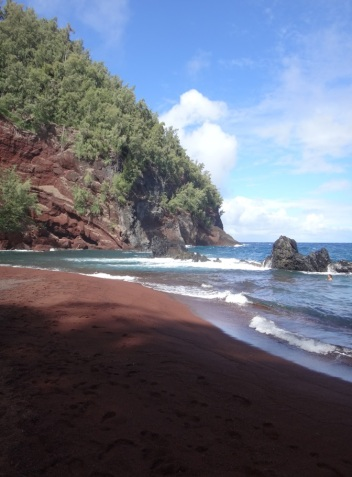 The Red Sand Beach