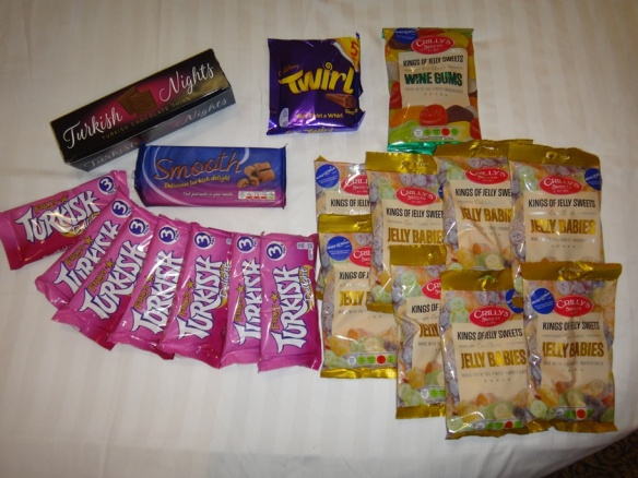 The UK candy stash