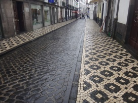 Azorean sidewalks