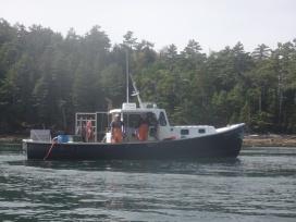 Lobstermen in Maine
