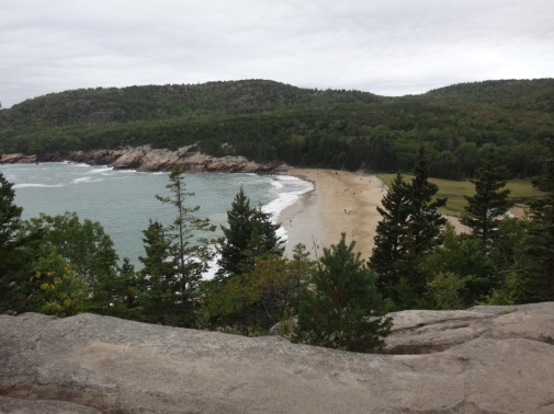 21 Sand Beach (stop on shuttle route)