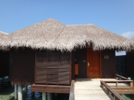 Our fabulous Over Water Bungalow